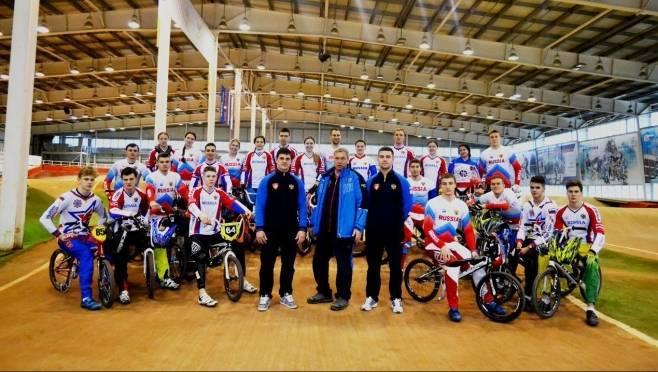 Сборная России по велоспорту-ВМХ набирает форму в Саранске