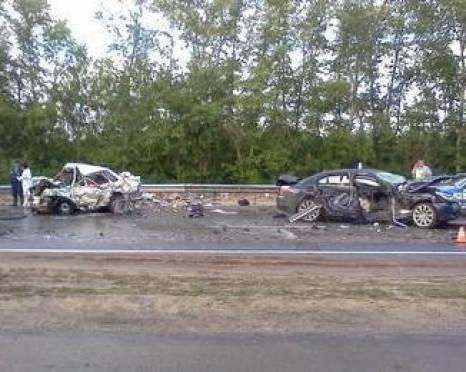 Семья из Мордовии погибла в ДТП в Рязанской области