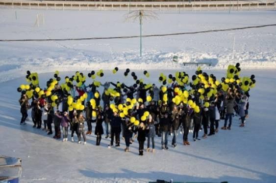 Билайн подарил жителям Саранска «Яркое сердце»