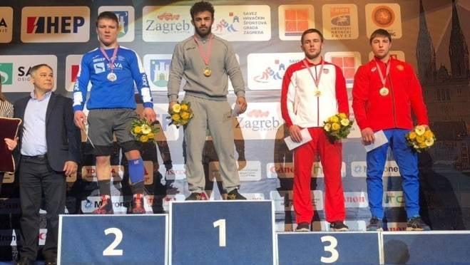 Победа над венгром и турком принесла рузаевскому борцу «бронзу» турнира в Хорватии