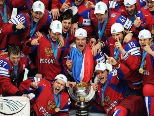 Жители Мордовии подержат в руках Кубок чемпионата мира по хоккею 2014 года