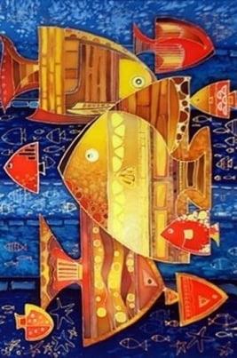 Подводный мир глазами детей постер