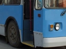 В Саранске троллейбус наехал на пенсионерку