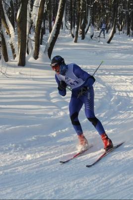 Чемпионат и первенство России по лыжным гонкам спорта глухих постер