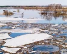 «Большая вода» в Мордовии ведет себя по-разному