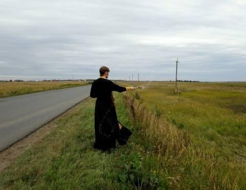 В Мордовии с опасной дороги «смыли» негатив