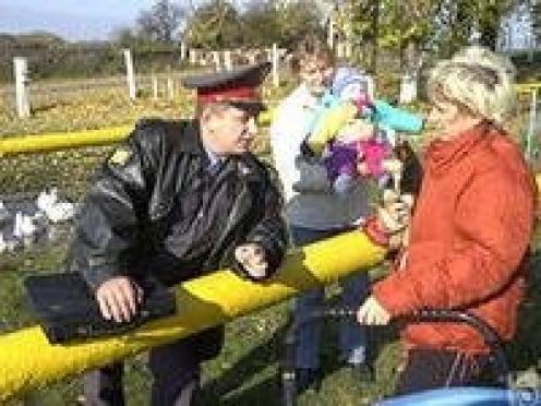 В Саранске участковый спас жизнь пенсионерке