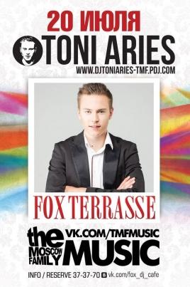 DJ Toni Aries постер