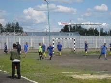 """Осужденные Мордовии сыграли в футбол под """"прицелом"""" видеокамер"""