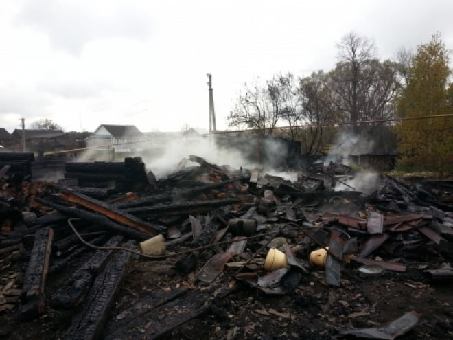 Два жителя Мордовии погибли в огне