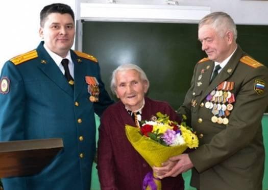 Награды нашли участницу ВОВ из Мордовии спустя 70 лет