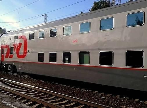 Жители Мордовии смогут ездить в двухэтажном поезде