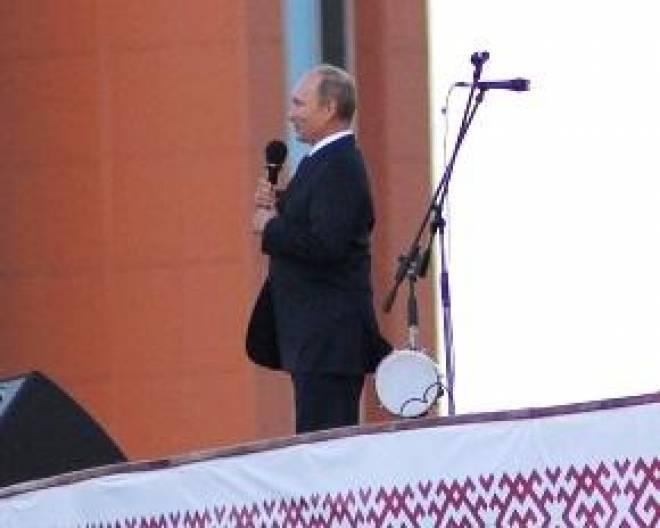 Владимир Путин дал высокую оценку празднованию Тысячелетия в Мордовии