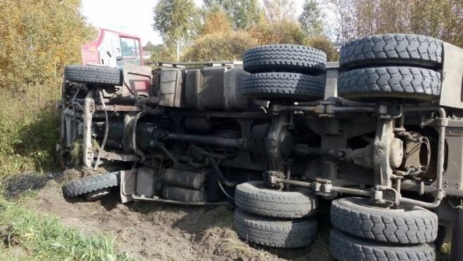 Водитель грузовика попал в ДТП на дороге «Темников — Ельники»