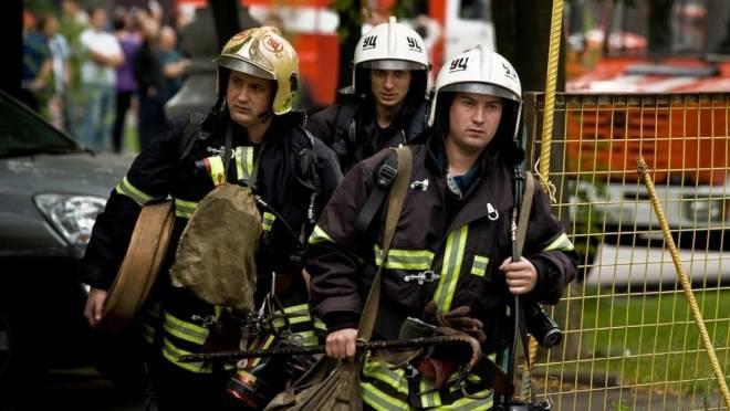 В центре Саранска произошло возгорание в жилой высотке