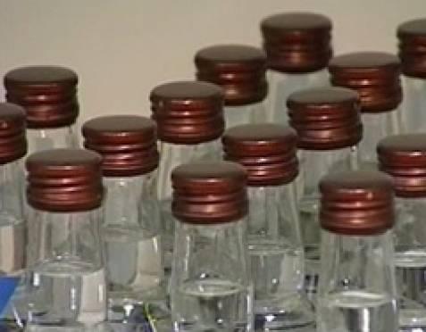 В Мордовии у женщины украли 12 бутылок водки