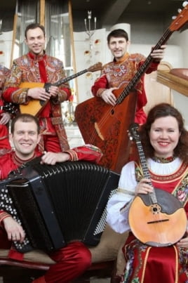 Волга-folk-band постер