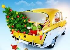 В Саранске таксисты раздают клиентам сладкие подарки