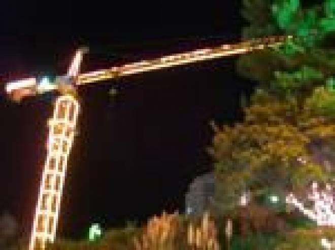 Строительные площадки в Саранске оформят по новогоднему