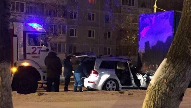 Водитель «Мерседеса», протаранивший в Саранске фуру, был пьян