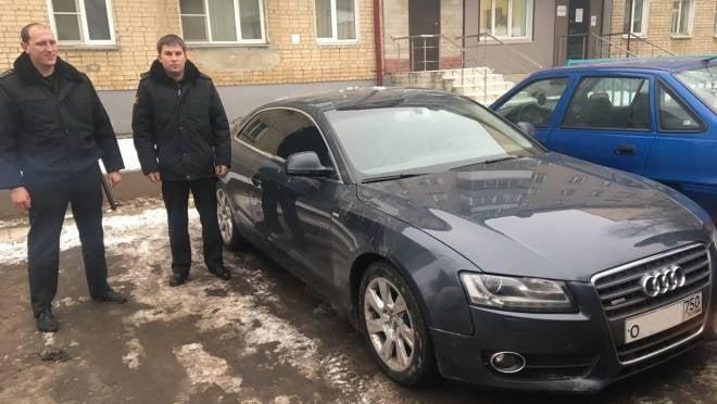 В Саранске приставы арестовали «Audi A5» лихой автоледи из Чамзинки
