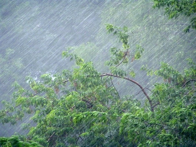 На Мордовию надвигается гроза и сильный ветер