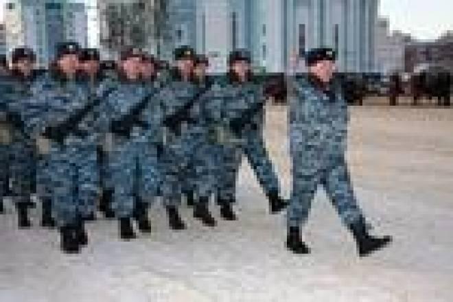 В Саранске состоялся смотр милицейских подразделений