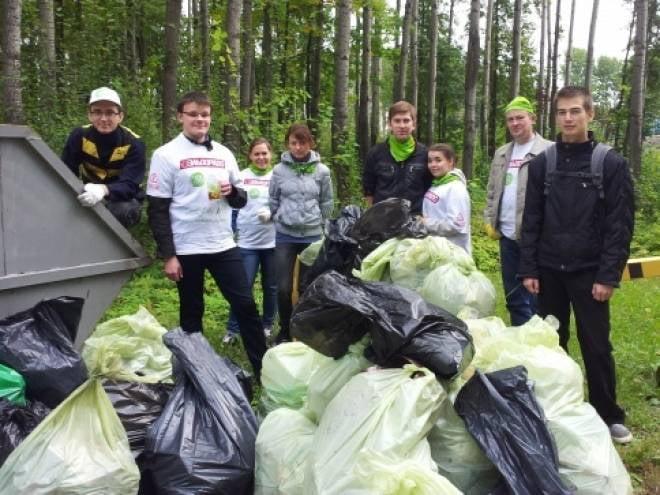Блогеры и сотрудники «Билайн» сделали Саранск чище