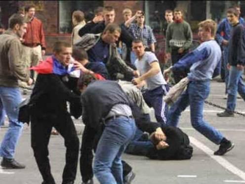 В Саранске фанаты «Химок» напали на болельщиков «Мордовии»