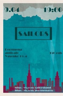 SAILORS постер