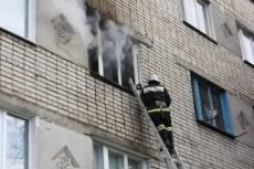 Сегодня в Саранске горела пятиэтажка