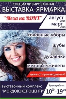 Меха на ВДНХ постер