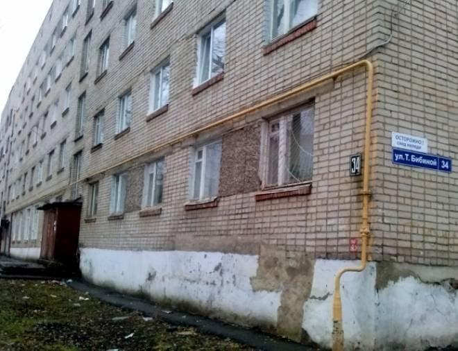 В Саранске горела комната в общежитии