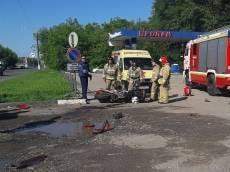 В Саранске мотоциклист получил тяжелейшие травмы в ДТП с грузовиком