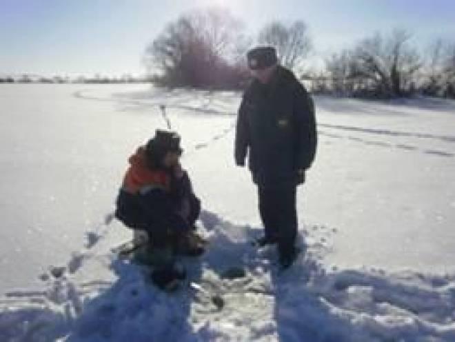МЧС РМ: Выход на лед в Мордовии запрещен