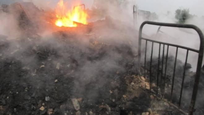На пожаре в Мордовии пострадал 1 человек