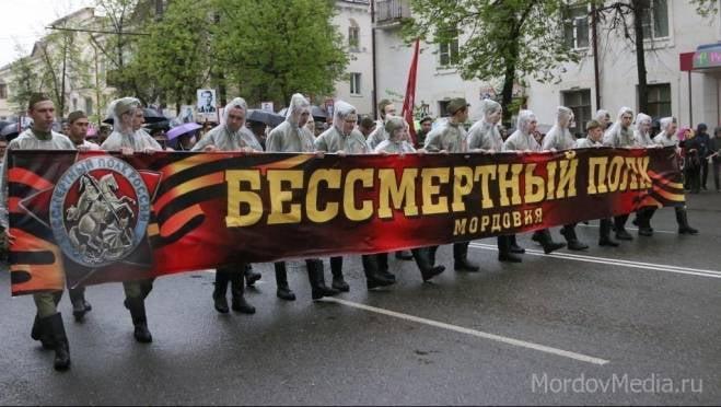 По Саранску вновь пройдет «Бессмертный полк»