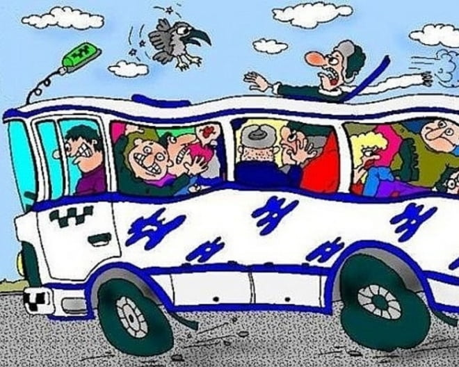 В Саранске автобус «уронил» сразу троих пассажиров