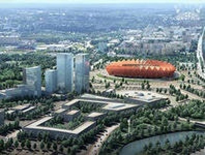 О стадионе «Юбилейный» в Саранске рассказали всему миру