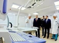 В Саранске открыли лечебно-диагностический корпус РКБ