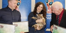 В саранском зоопарке новорождённые пумы получили имена футбольных звёзд