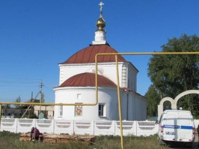 Пензяк обокрал храм в Мордовии