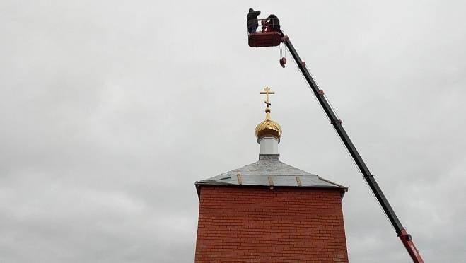 Храм на месте «мордовской Голгофы» обрёл купол