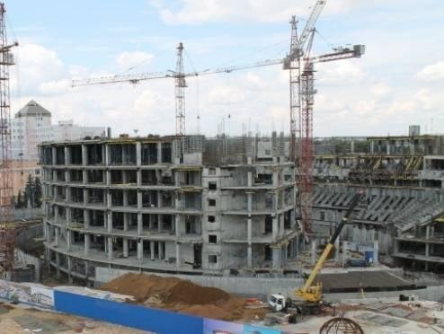 Мордовия ведет масштабные стройки в сложной финансовой ситуации
