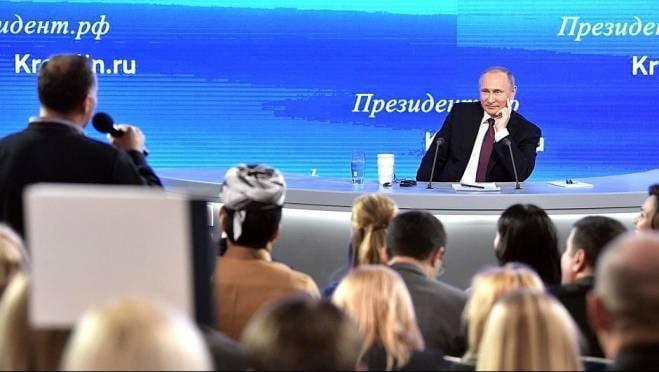 Объявлена дата большой пресс-конференции Путина