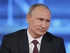 Владимир Путин за три часа ответил на 47 вопросов журналистов