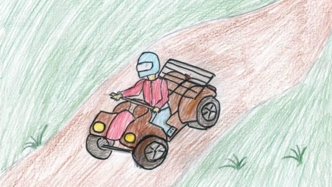 В Мордовии школьник на квадроцикле сбил двухлетнюю девочку