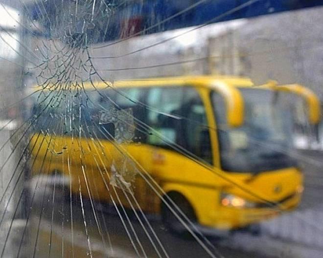 В Саранске остановка общественного транспорта стала «жертвой» вандализма