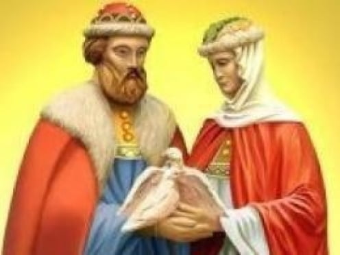 В Саранске день памяти Петра и Февронии отметят шествием молодожёнов