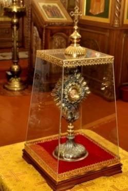 В мордовский монастырь прибыла христианская реликвия